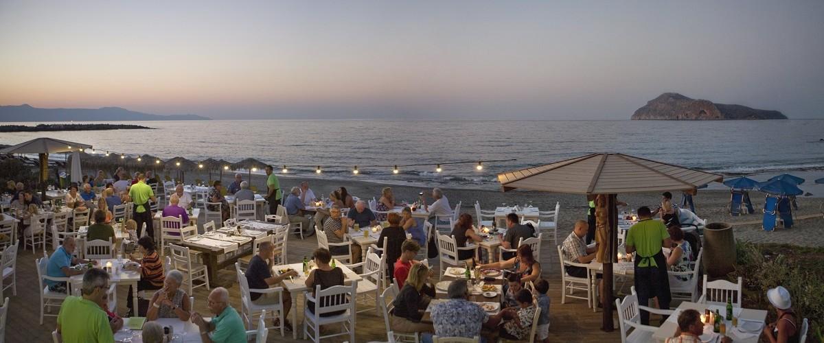 """Ξενοδοχείο Platanias Ariston – Εστιατόριο """"the Olive Tree"""""""