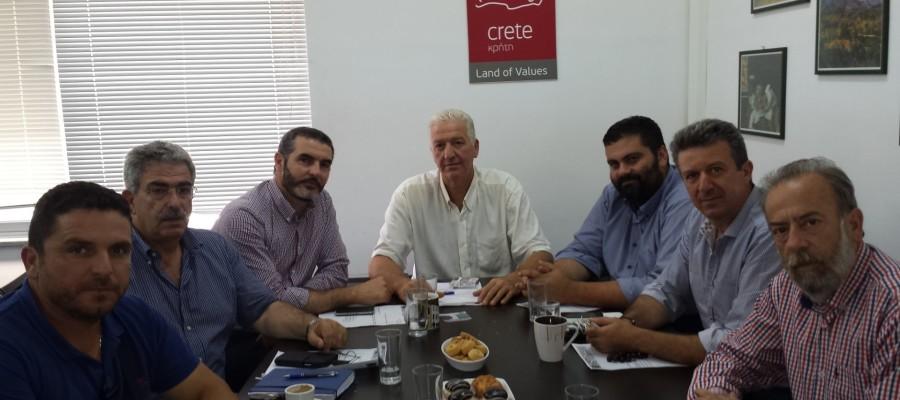 Ομόφωνη εκλογή του Τάσου Κουρουπάκη ως Προέδρου της Αγροδιατροφικής Σύμπραξης της Περιφέρειας Κρήτης